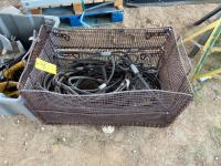 Lot- Choker Cable with Basket