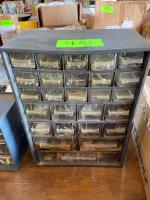 Sorter Bin with Screws, Bolts, Clips, etc