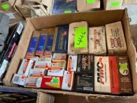 Lot- Assorted 22, 9mm Ammo