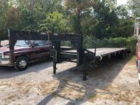 1994 36ft Dual Tandem Axle Gooseneck Trailer
