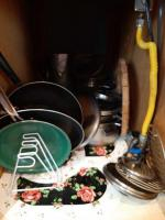 Cabinet of pots and pans