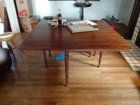 Drop leaf gateleg table - contents not included - 71