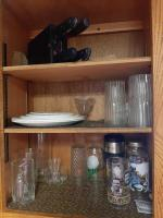 Contents of wall cabinets - hull cabinet not included
