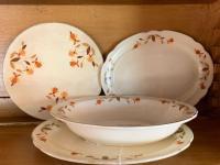Hall Jewel Tea - 2 oval plates,