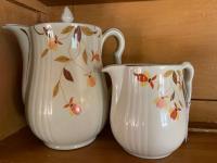 2 Hall Jewel Tea pitchers