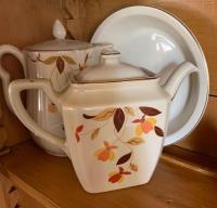 Hall Jewel Tea - two pitchers, bowl