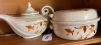 Hall Jewel Tea - Aladdin tea pot, covered dish
