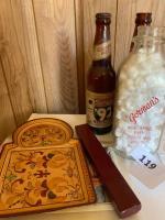 Vintage Gormans Milk Bottle; Beer Bottles; Abruzzi