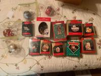 Lot of Hallmark and misc ornaments