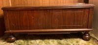 Vintage cedar chest w/ ball feet