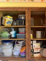 Contents of Kitchen Cabinets