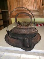 Vintage Griswold Waffle Maker; Iron