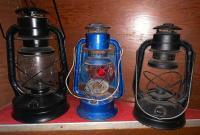 Dietz #2 D Lite lantern;dietz #30 lantern;dietz Little wizard