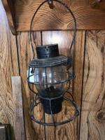 Hanlin Penna Lines railroad lantern