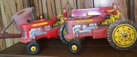 Tractors; Feed Grinder; Grain Wagon