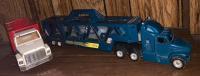 Ertl Livestock Truck; Hotwheels Cargo Carrier