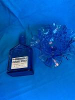 Blue ruffle top compote, Mary Wheaton's