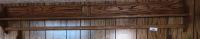 """6' X5"""" Plate Shelf/Quilt Rack"""