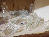 Vintage Snowcrest Beverages Bear Jug (missing lid); Clear Glass Collection