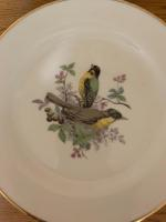 6 Western Germany bird plate