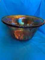 Iridescent Gold Princess punch bowl