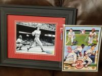 Stan Musial and Lou Brock Autographs