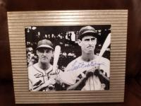 STAN MUSIAL AND TED WILLIAMS AUTOGRAPHED PHOTO