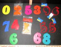 Numeral Cookie Cutters