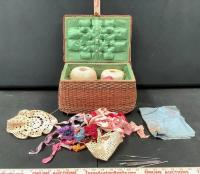 Sewing Basket and Accessories