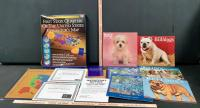 State Quarters Collectors Books and Old Doggie Calendars