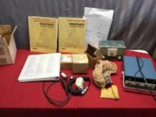 Various Heathkits parts, manuals and more