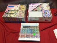 2 Card Making kits and a Glitter pack, unused