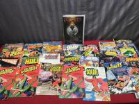 Various Comics, these have clearly been well used