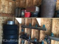 Insulators, Oil & Gas Cans & Tires