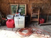 Dehumidifier & Contents Of Wall