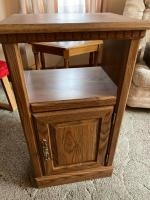 """Wooden stand/cabinet in lower section 17"""" 13"""" 31"""""""