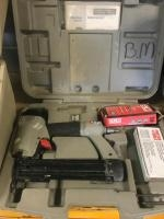 Senco brad nailer with case and assorted fasteners