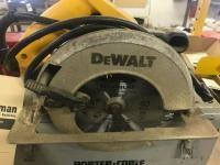 Dewalt 7 1/4 inch circular saw