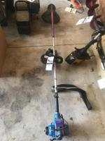 Shindaiwa T260 Straight shaft seedeater, with extra bush blade, has compression