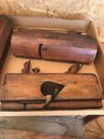 3 Antique Wood planes