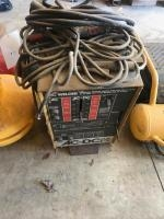 AC/DC Arc Welder with assorted leads