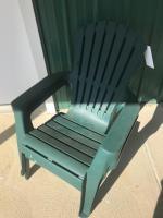 2- plastic Adirondack chairs