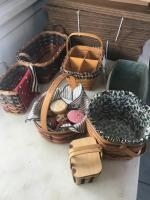Collection of Baskets, 3 are Longaberger