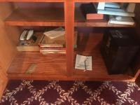 Cabinet cleanout, books and file box