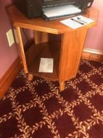 Solid wood Printer stand or end table