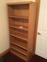 33 x 78 inch bookshelf