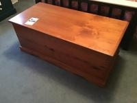 Cedar Chest with dovetailed corners, 49 inches long