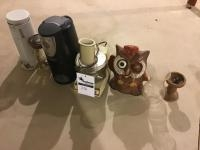 Assorted Small Kitchen Appliances and decor