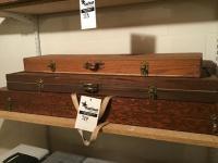 3 custom made gun boxes