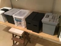 Assorted Used File boxes